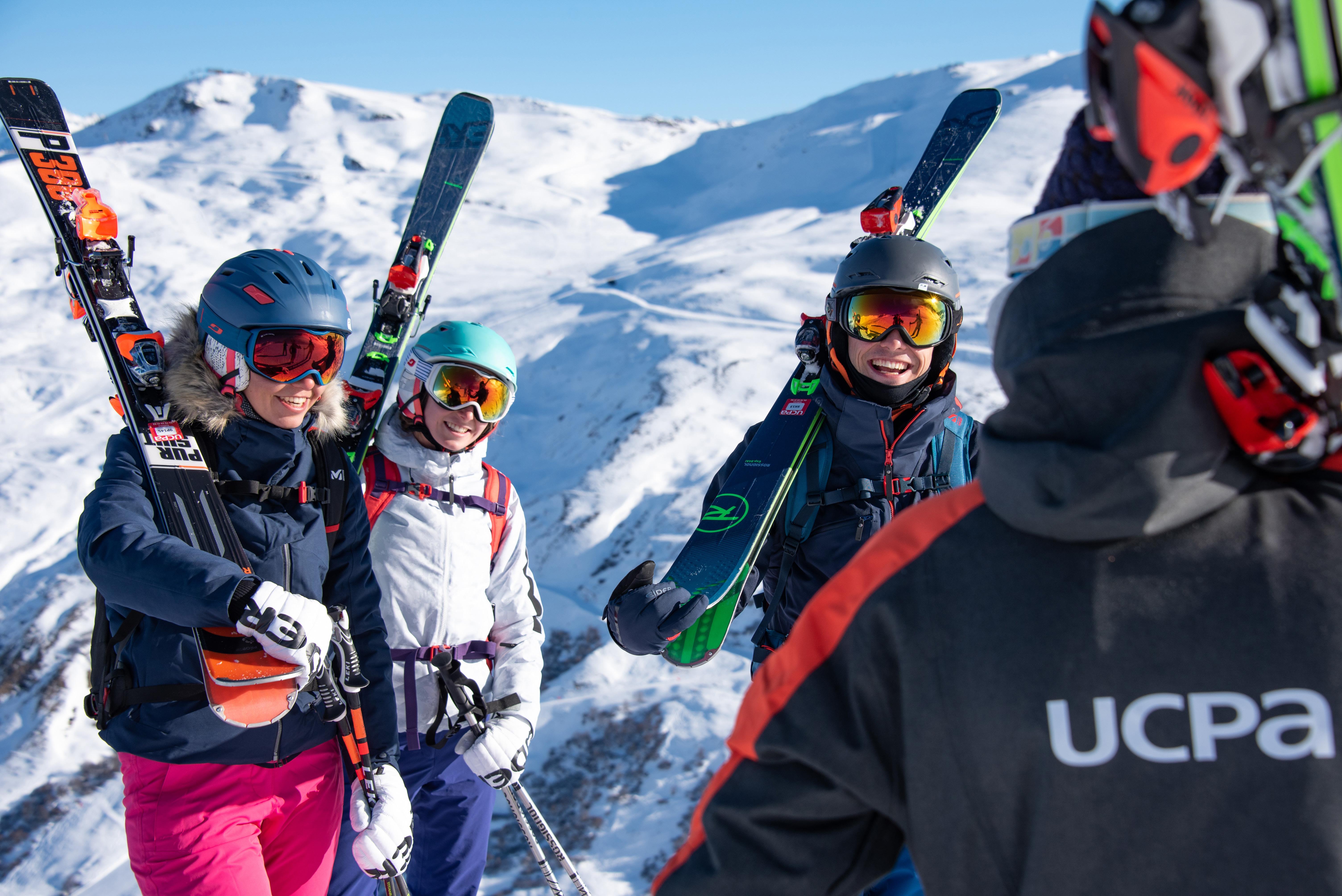 Découverte du ski hors-piste / ski de rando - séjour en France - UCPA